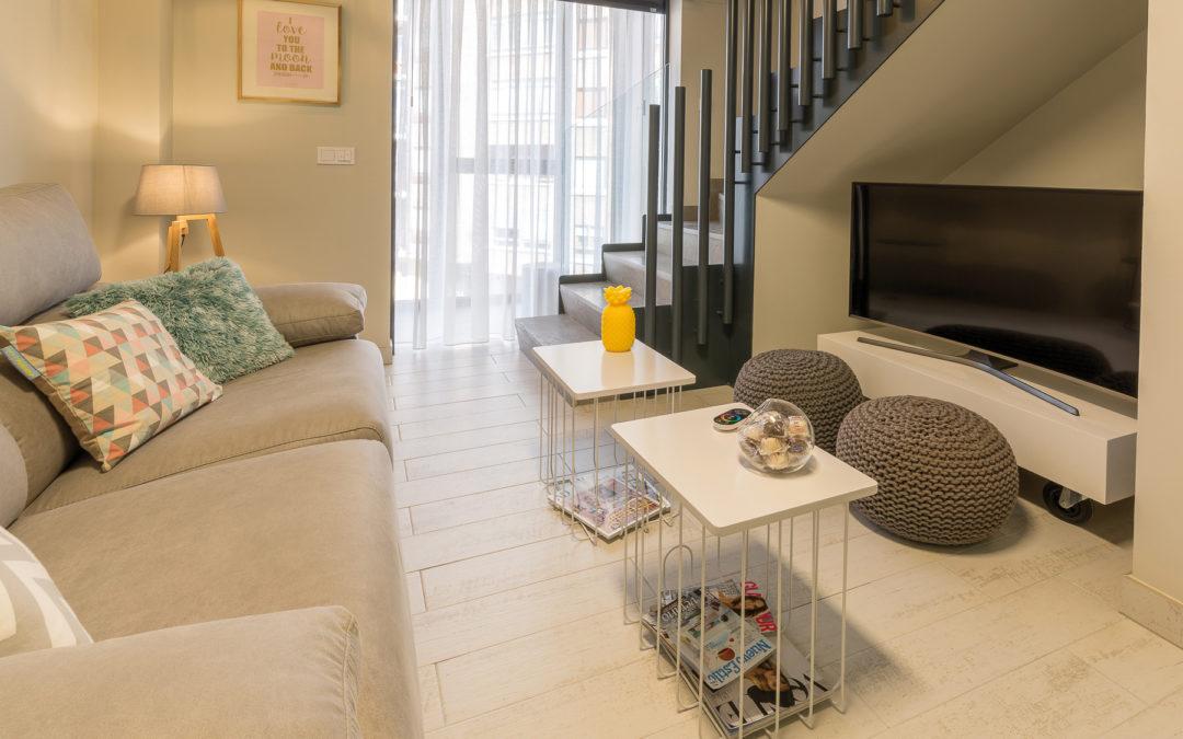 Nordic  Apartamento Dúplex con capacidad máxima para 4 personas.